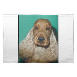 English Cocker Spaniel Dog Placemat