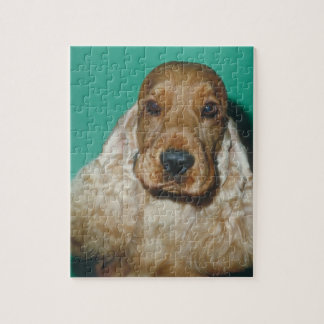English Cocker Spaniel Dog Puzzle