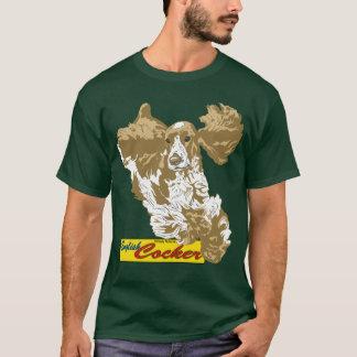 English Cocker Spaniel Jumping T-Shirt