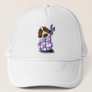 English Cocker Spaniel Sack Puppy Trucker Hat