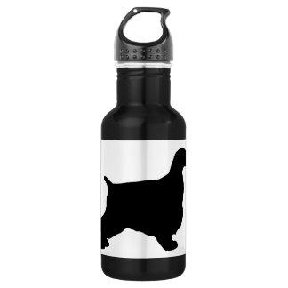 English Cocker Spaniel silo black.png 532 Ml Water Bottle