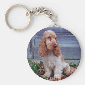 English Cocker Spaniels Key Ring