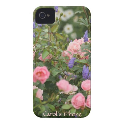 English Cottage Garden iPhone 4 Case