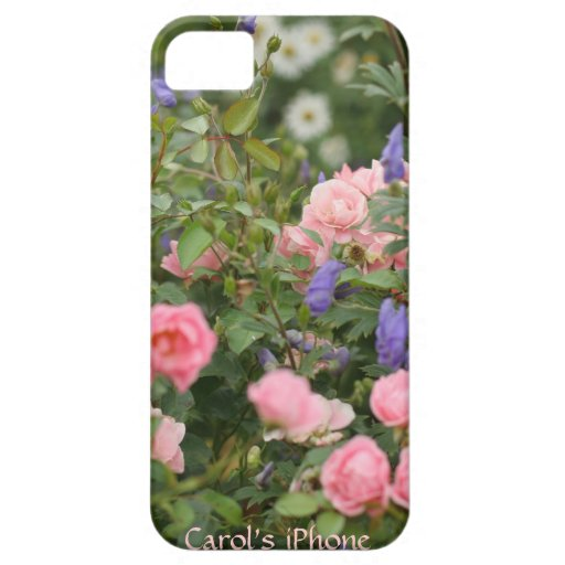 English Cottage Garden iPhone 5 Cases