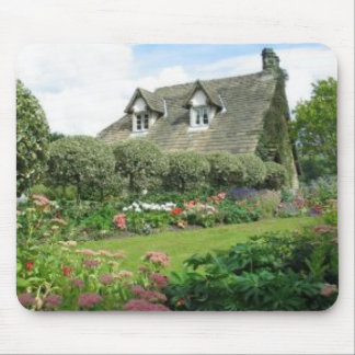 English Cottage Garden Mouse Pad