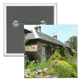 English Cottage II Pinback Buttons