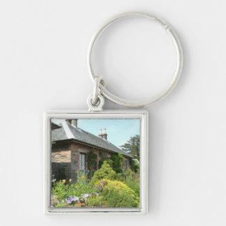 English Cottage II Key Chain
