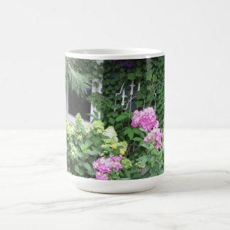 English Country Cottage Garden Coffee Mug