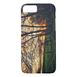 English Countryside Sunset HDR iPhone 7 case