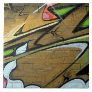 English graffiti tiles