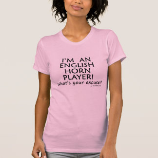 English Horn Player Excuse Tanks