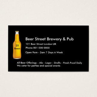 English Pub Business Cards
