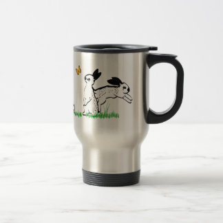 ENGLISH SPOTS IN THE GRASS STAINLESS STEEL TRAVEL MUG