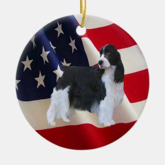 English Springer Spaniel Ornament