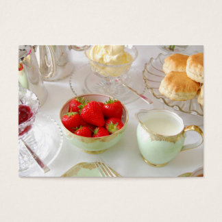 English Tea Rooms Customisable Business card
