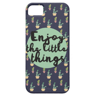 """Enjoy the little things"" design. iPhone 5 Cover"