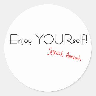 Enjoy YOURself! Sticker