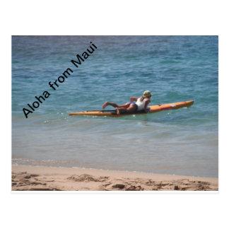 Enjoying the Maui Views Postcard