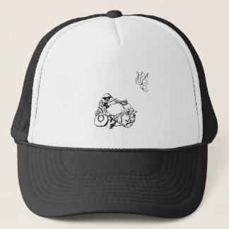 Enlightened Gangster ohm tattoo Trucker Hat