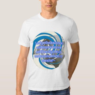 Enrgish for Optimism Tee Shirts