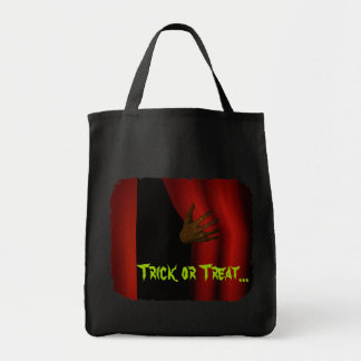 Enter Halloween Trick or Treat Grocery Tote Bag