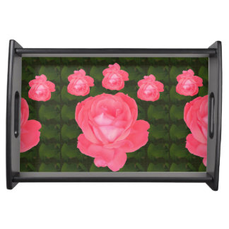 Entertain in style Romantic Rose Selection Serving Tray