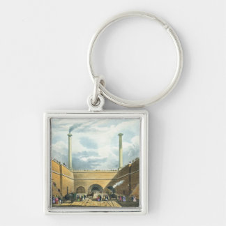 Entrance of the Railway at Edge Hill, Liverpool, p Key Ring