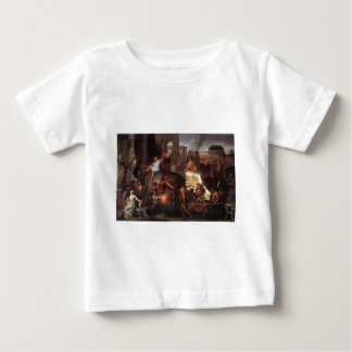 Entry Of Alexander Into Babylon Baby T-Shirt