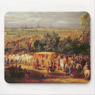 Entry of Louis XIV  and Marie-Therese of Mouse Pad