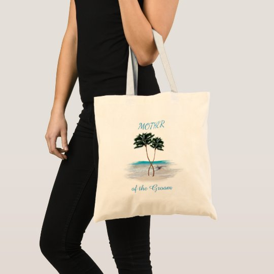 Entwined Palms Beach Mother of the Groom Tote Bag
