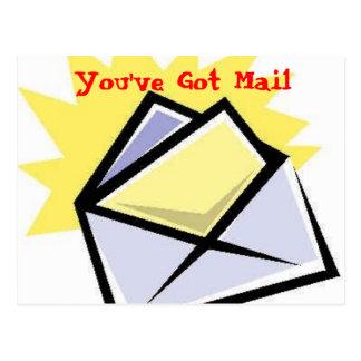 envelope 1 You ve Got Mail Post Card