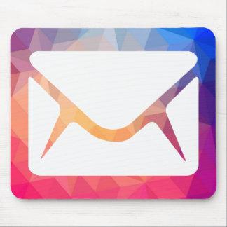 Envelope Casings Pictogram Mouse Pad