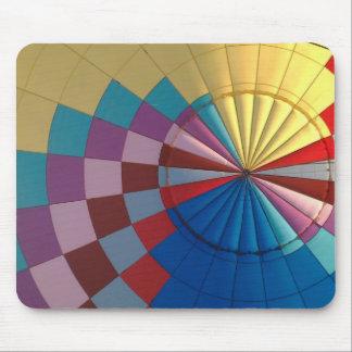 Envelope hot air balloon mouse pad