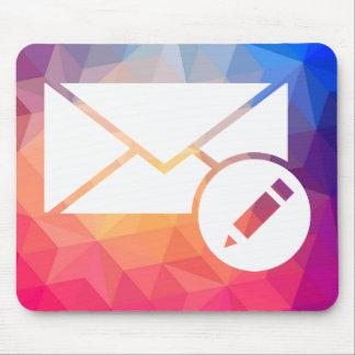 Envelope Letters Minimal Mouse Pad