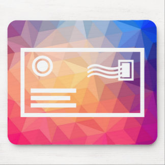 Envelope Packages Icon Mouse Pad