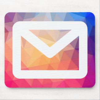 Envelope Patterns Symbol Mouse Pad