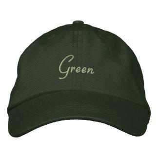 Environmental Baseball Cap 'Green'