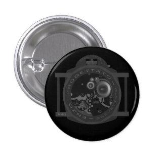 enzo progettato 3 cm round badge