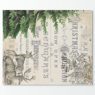 Ephemera Christmas Wrapping Paper