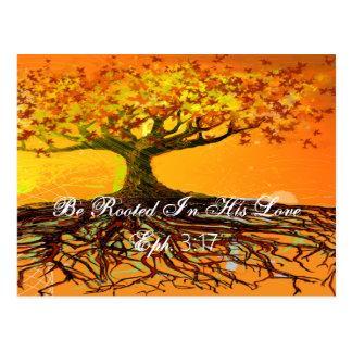 Ephesians 3:17 postcard