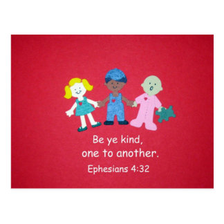 Ephesians 4:32 postcard