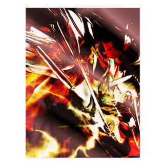 EPIC ABSTRACT d3s3 Postcard
