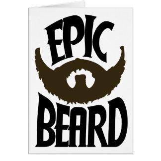 Epic Beard Card