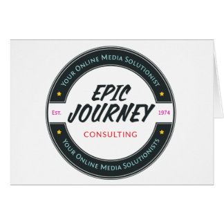 Epic Journey Branded Items Card