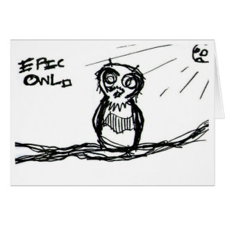 Epic Owl #1 Card
