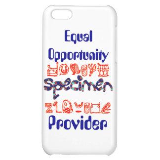 Equal Opportunity Specimen Provider iPhone 5C Cases