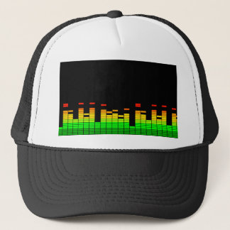 Equalizer Vibes from the Beat of DJ Music decor Trucker Hat