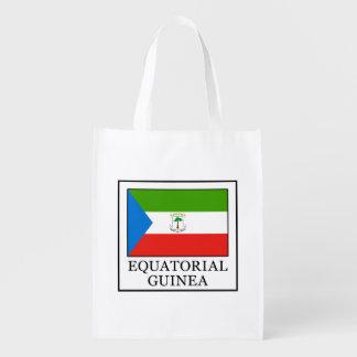 Equatorial Guinea Reusable Grocery Bag