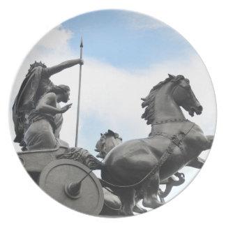 Equestrian architecture in London Plate