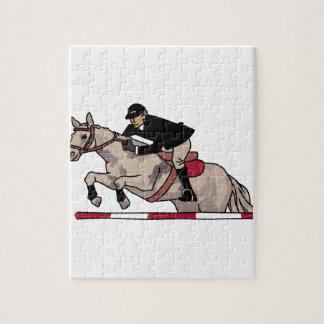 Equestrian Hunter Jumper Jigsaw Puzzle